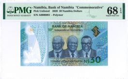 Namibia S1R1 low 2-digit s/n