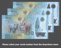 Namibia S1R1 low 3-digit s/n