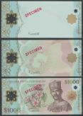 Brunei 1000$ set